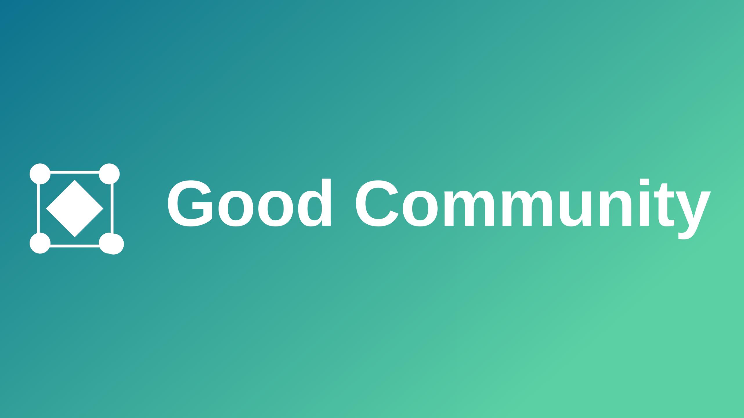 Good community